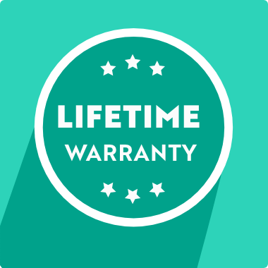 Lifetime Warranty on all Products